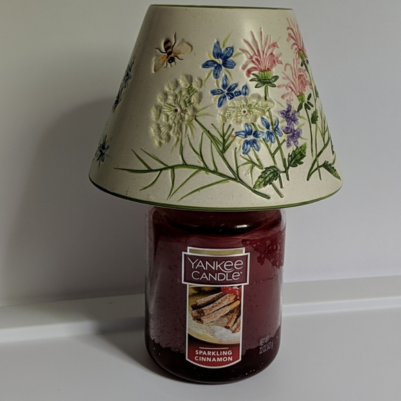 Yankee Candle Large Jar Floral Candle Topper
